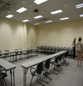 LSUS smaller room for workshop