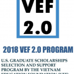 2018 VEF 2.0 Program Announcement